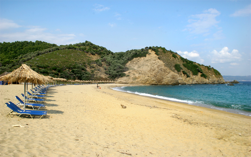 Secluded beaches in Skiathos: Aselinos