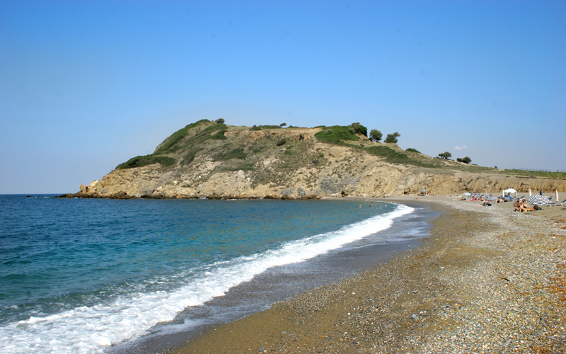 Secluded beaches in Skiathos: Xanemo